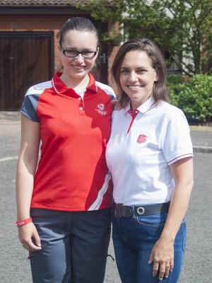 Rebecca and Liz Pye