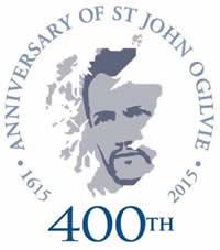 St John Ogilvie 400th anniversary logo